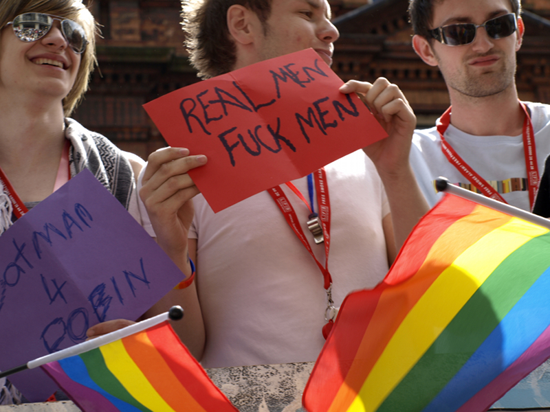 London Pride: real men fuck men